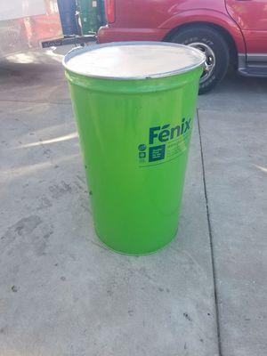 Skinny metal barrels food grade for Sale in Sanger, CA