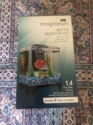 Imagitarium Betta Desktop Kit - new tank with packaging for Sale in Costa Mesa, CA