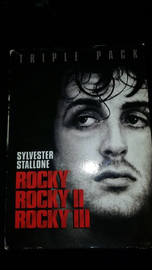 Rocky trilogy DVD pack for Sale in Chicago, IL