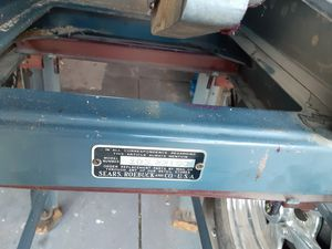 Vintage Sears and Roebuck Electric table saw for Sale in North Las Vegas, NV