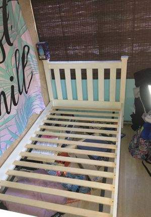 Wood bed frame for Sale in Commerce, CA