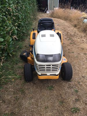 Do you have a running or non running riding lawn mower that you would like to get rid of , let me have it. for Sale in Tacoma, WA