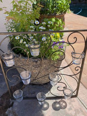 Metal Wall Candle Holder for Sale in Modesto, CA