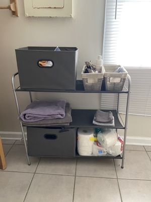 Closet Storage Organizer with bins and shelving for Sale in Chapel Hill, NC