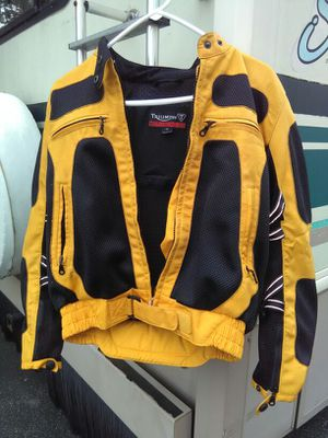 Motorcycle Jacket with safety protection features for Sale in Laurel, MD