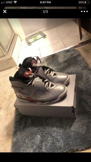 Jordan 8 Retro Reflections of a Champion, worn once, Great condition for Sale in San Leandro, CA
