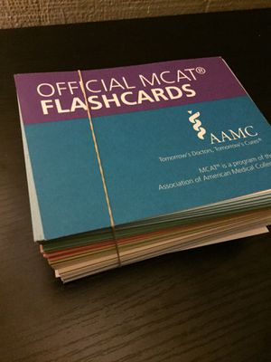 MCAT 2018 Kaplan Flashcards for Sale in San Francisco, CA