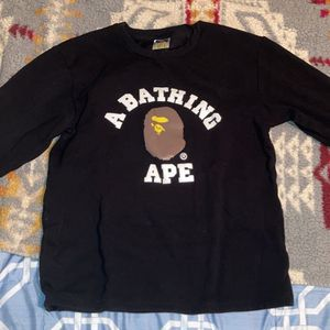 Bape Black Long Sleeve for Sale in Everett, WA