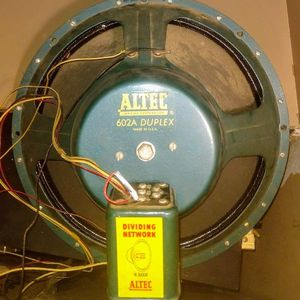 "Altec 15"" 602A N-3000A crossover Network vintage full range speaker w horn for Sale in Renton, WA"