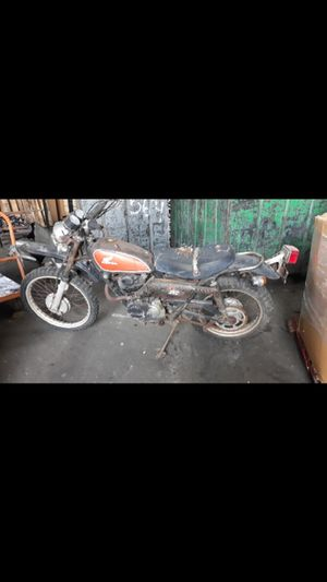 1970s HONDA 250XL PROJECT!! KICKS OVER!! PROJECT!! 325$ OBO for Sale in Los Angeles, CA
