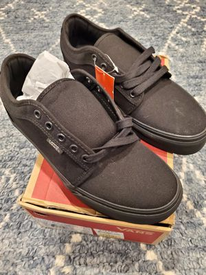 Brand new still in box w/tag Vans size 8 Chukka Low Blackout Never worn. BRAND NEW! for Sale in South Jordan, UT