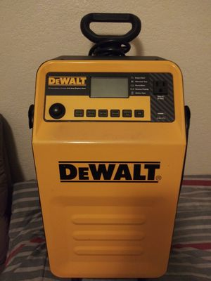 Dewalt battery charger and engine start for Sale in San Diego, CA