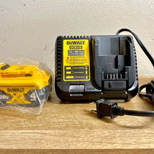DeWalt 4.0 Ah Battery With Fast Charger for Sale in Houston, TX