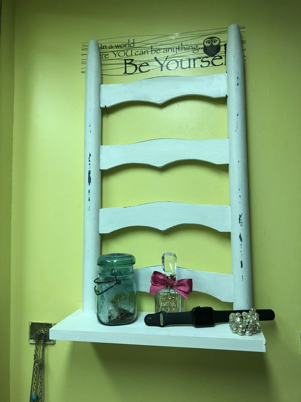 Ladder Back Shelf