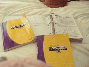 Saxon Math 8/7 Homeschool books for Sale in Tijeras, NM
