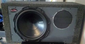 "((Package Deal ))12"" ROCKFORD P1 and 2000 DHD amp for Sale in Indianapolis, IN"