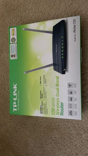 TP-LINK router for Sale in Chesapeake, VA