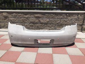 2007+ Infiniti G37 Sedan Rear Bumper White G37 Parts for Sale in Garden Grove, CA