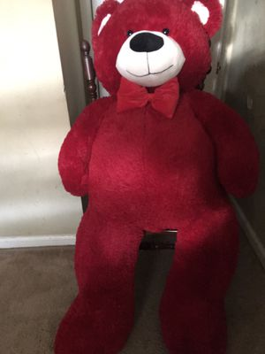 GIANT RED TEDDY BEAR!! for Sale in Atlanta, GA