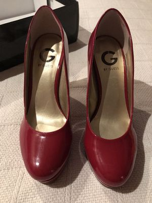 Guess Size 7 red heels NIB for Sale in Bristow, VA