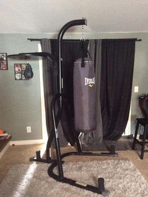 Punching bag speed bag stand for Sale in Wildomar, CA
