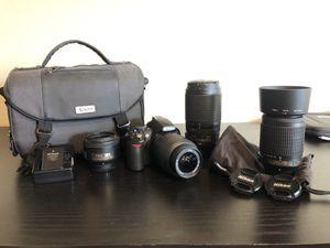 Nikon D3100 Digital SLR Camera Package for Sale in Henderson, NV