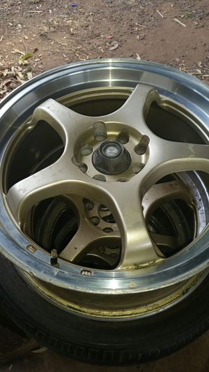 17 inch rims (114.3 × 4)( 100 x 4) universal no tires for Sale in Waianae, HI