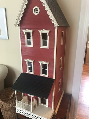 Victorian Dollhouse 4' tall 4 stories 4 rooms for Sale in Richmond, VA