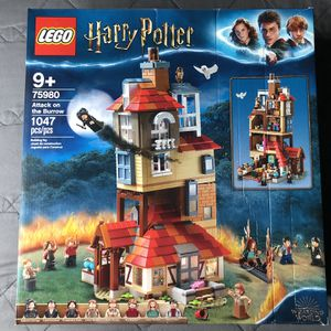 75980 LEGO Harry Potter Attack on the Burrow NEW & SEALED HP Toy Collectible for Sale in Los Banos, CA