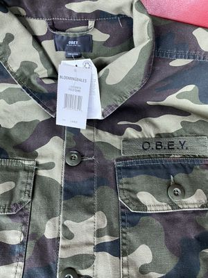 Brand New Army station Shirt Jacket L for Sale in West McLean, VA