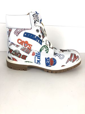 Timberland Premium Boot Size 9.5 Mens Mitchell & Ness NBA Teams Logo TB0A1UD6100 for Sale in Manteca, CA