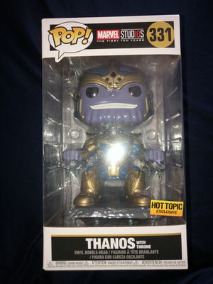 THANOS WITH THRONE FUNKO POP for Sale in Norco, CA