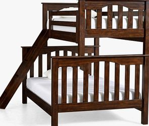 Pottery Barn Twin Bunk Bed w/ Trundle for Sale in Seattle,  WA