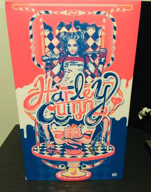 Hot toys Harley Quinn & autographed pic for Sale in San Antonio, TX