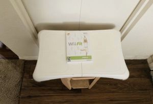 NINTENDO Wii Fit Balance Board And Game for Sale in Mesa, AZ