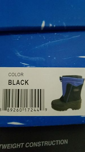 Kids snow boots size 12 for Sale in San Jose, CA