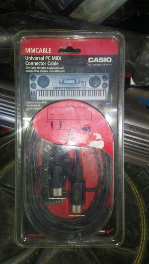 Universal pc midi cable for Sale in Sioux Falls, SD