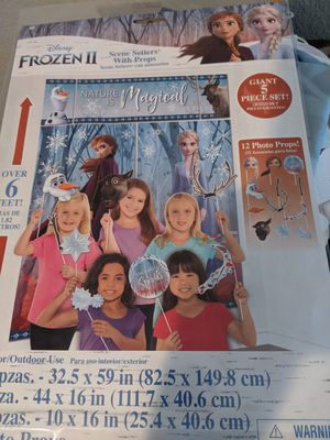 Frozen photo booth props for Sale in Sacramento, CA