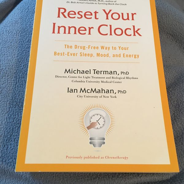 RESET YOUR INNER CLOCK . BOOK