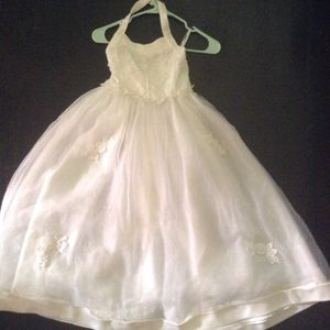 Lil girls wedding gown for Sale in Grosse Pointe Park, MI