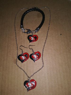 Womens 3pc jewelry set....bracelet..earrings..necklace.. for Sale in Concord, CA