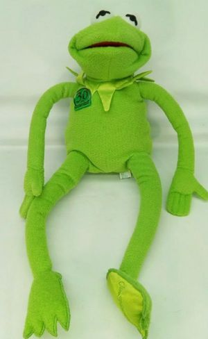 """Jim Henson 18"""" Kermit Frog 30th Anniversary Magic Talking plush toy Tyco 1999 for Sale in City of Industry, CA"""