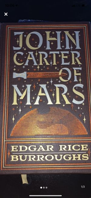 John Carter of Mars book for Sale in Anchorage, AK