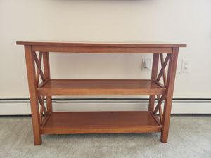 Table with shelving for Sale in Toms River, NJ