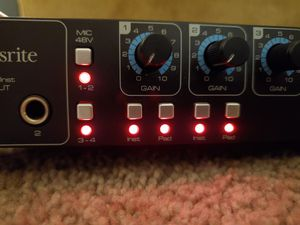 Focusrite Sapphire Pro 26 for Sale in Phoenix, AZ
