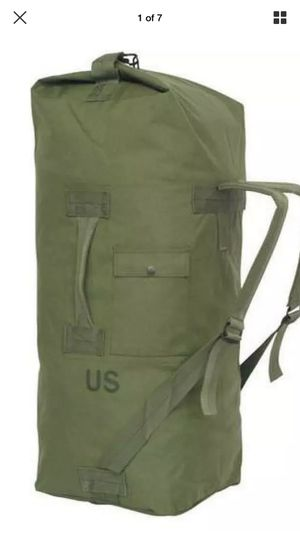 US Military Duffle Bag for Sale in Oakdale, CA