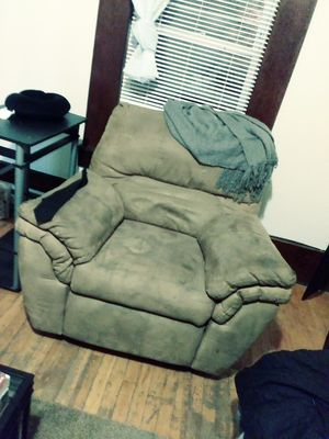 Recliner, love seat, futon, table for Sale in Lowell, MA