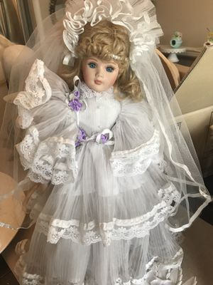 Antique porcelain doll for Sale in Virginia Beach, VA