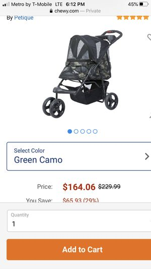New Dog stroller like new for Sale in Auburndale, FL
