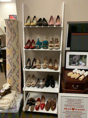 White ladder shelf for Sale in Matthews, NC
